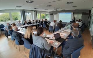 Forschungspartner und Teilnehmer des Forschungsprojektes am TZW in Karlsruhe